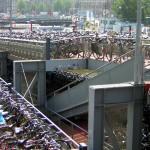 Il Parcheggio di Bici ad Amsterdam