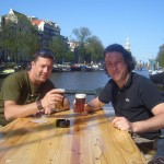 Amsterdam. Piero e Simone