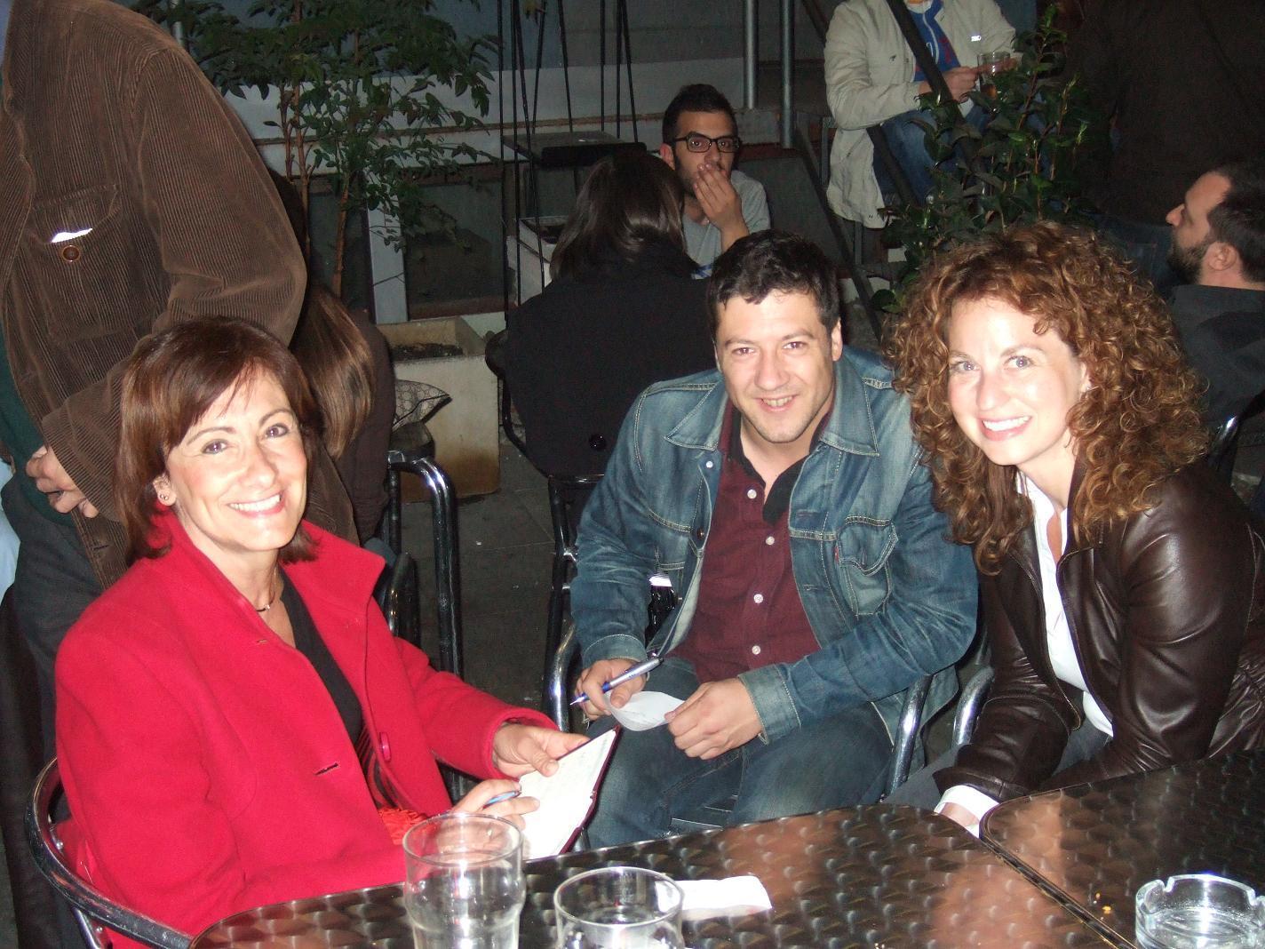 Cristina, Simone e Ariella Kornmehl