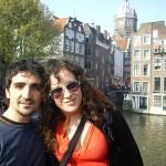 Michela ad Amsterdam in Aprile 2009