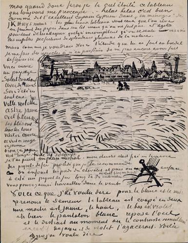 Van Gogh, esposte per la prima volta le sue lettere
