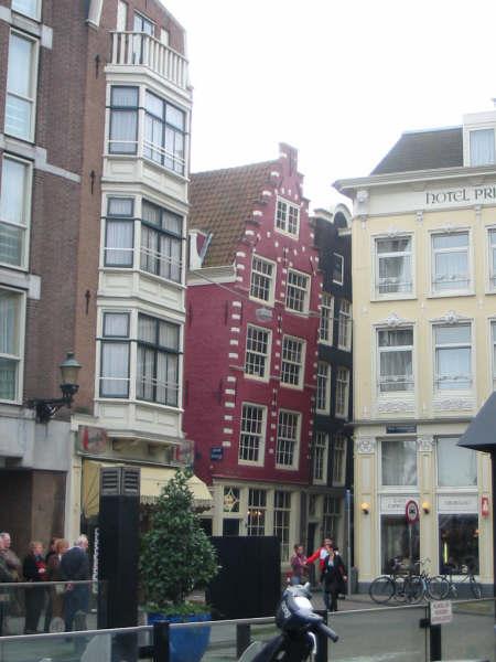 inclinazione case amsterdam
