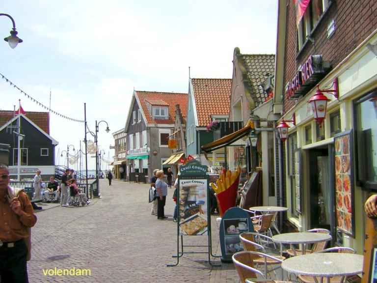 Volendam, un villaggio di pescatori