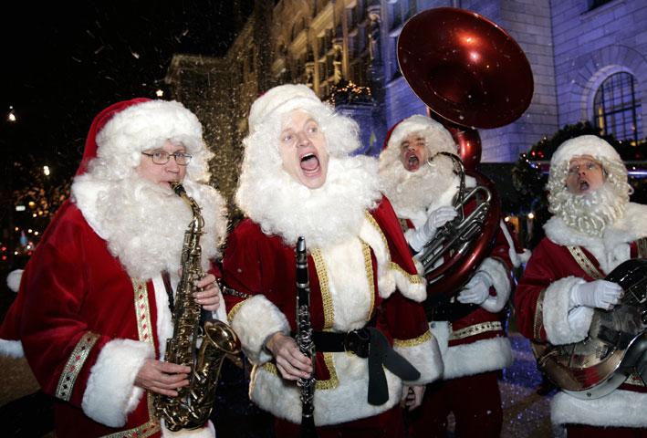 Olanda, i Babbo Natale