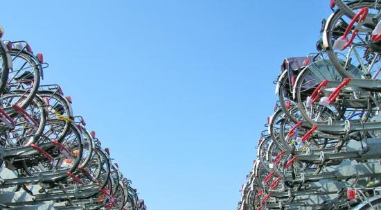 Groningen, la capitale mondiale delle biciclette