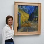 Maria Cristina Giongo al Museo Kruller Muller