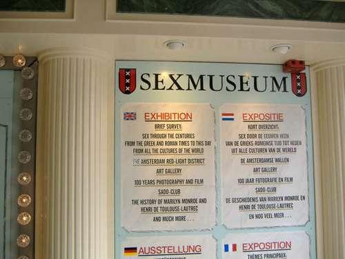 Amsterdam, Sex Museum
