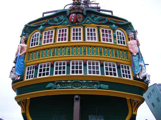 amsterdam scheepvaart fronte