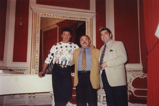 Domenico la Sala con Gheorghe Popescu